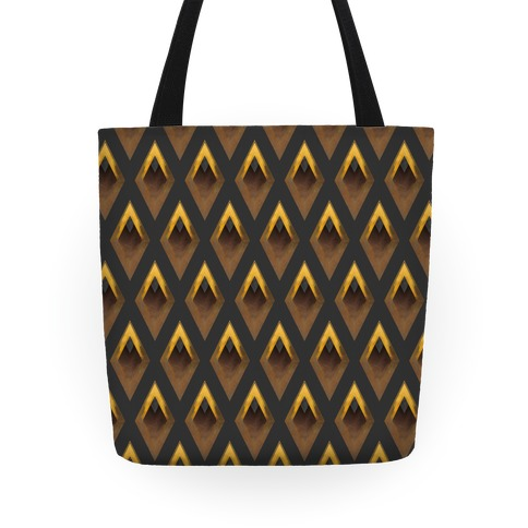 Golden Diamond Tote
