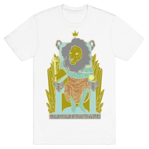 The Emperor Lion Mens T-Shirt