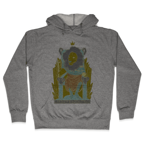 The Emperor Lion Hooded Sweatshirt