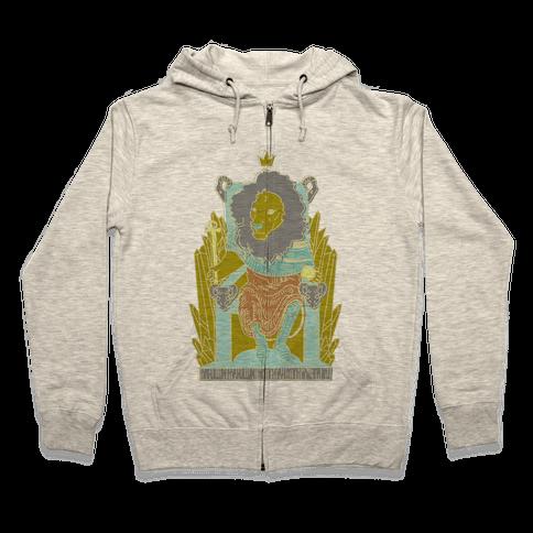 The Emperor Lion Zip Hoodie