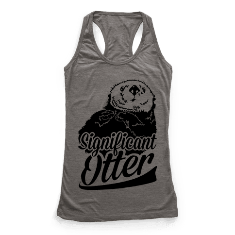 Significant Otter Racerback Tank Top