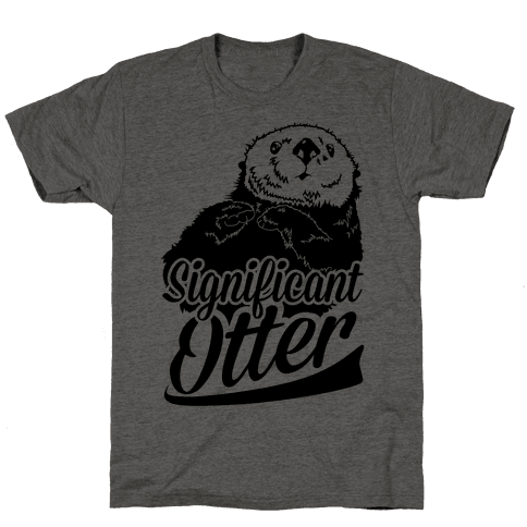 Significant Otter Mens T-Shirt