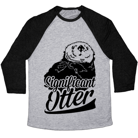 Significant Otter Baseball Tee