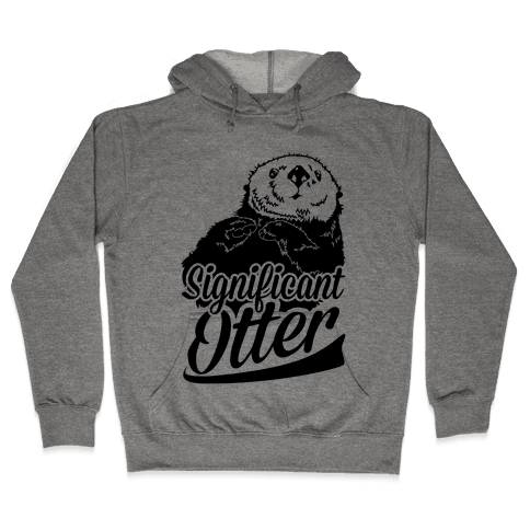 Significant Otter Hooded Sweatshirt