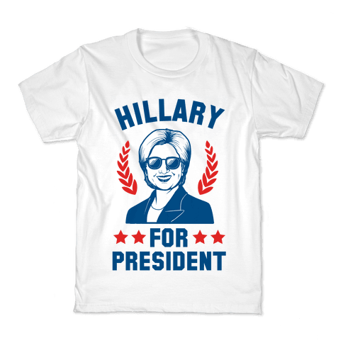 Hillary for President Kids T-Shirt