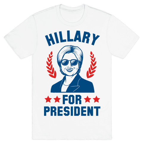 Hillary for President Mens T-Shirt