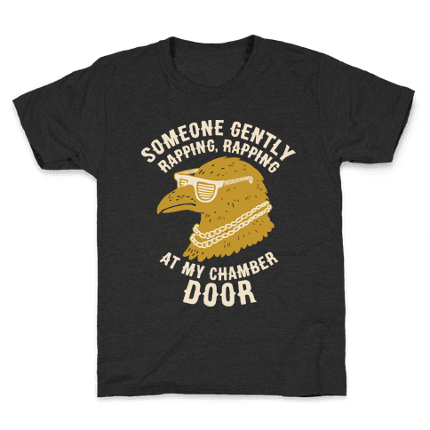 Someone Gently Rapping At My Door Kids T-Shirt