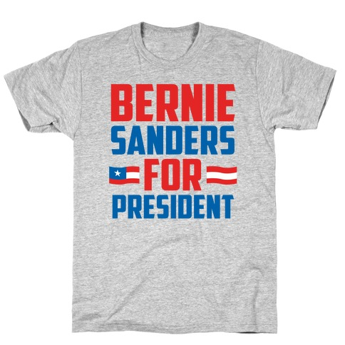 Bernie Sanders For President Mens T-Shirt