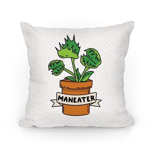 Maneater (Venus Fly Trap) Pillow