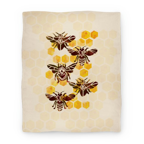 Bee Kingdom Blanket