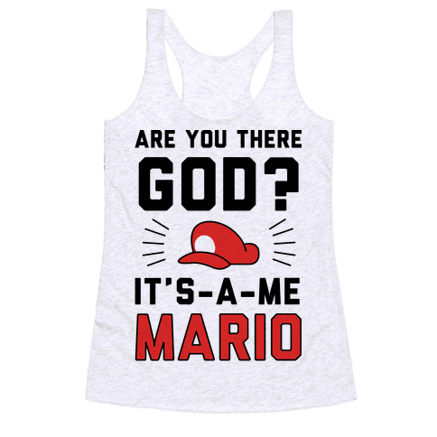 Are You There God? Racerback Tank Top