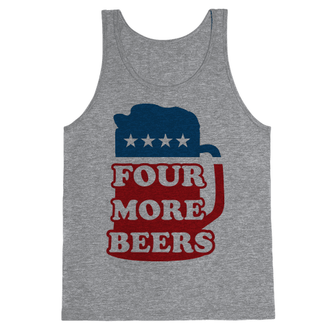 Four More Beerz Tank Top