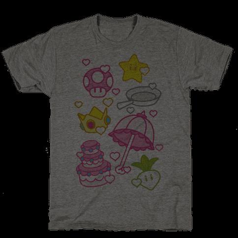 Peach Inventory Items Mens T-Shirt