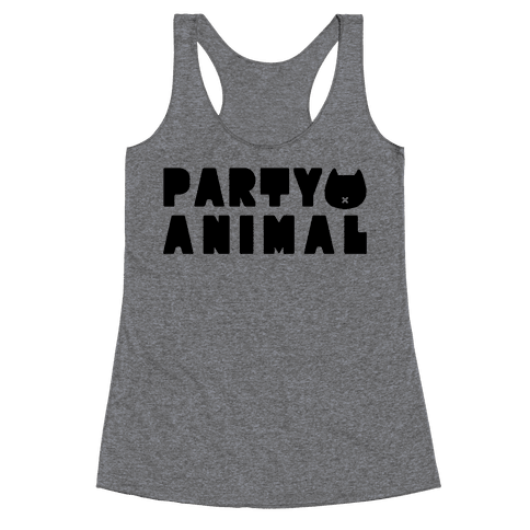 Party Animal Racerback Tank Top
