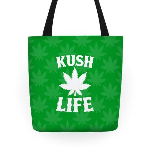 Kush Life (Green) Tote