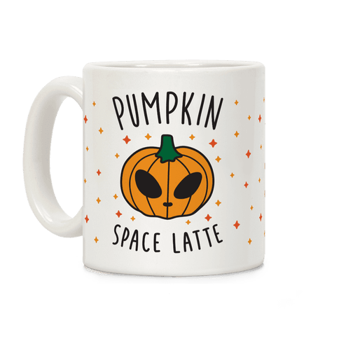 Pumpkin Space Latte Coffee Mug