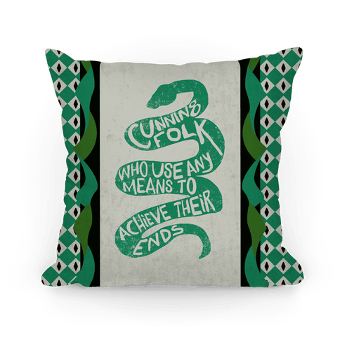 Cunning Folk Who Use Any Means To Achieve Their Ends (Slytherin)