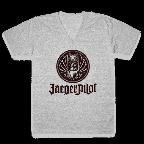 Jaeger Pilot V-Neck Tee Shirt