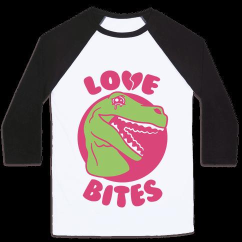 Love Bites Baseball Tee