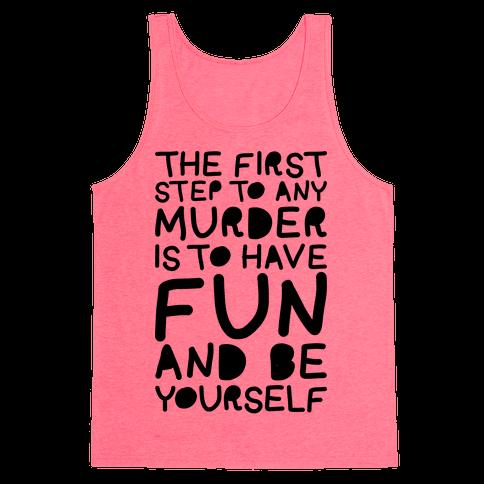 Murder Fun Tank Top