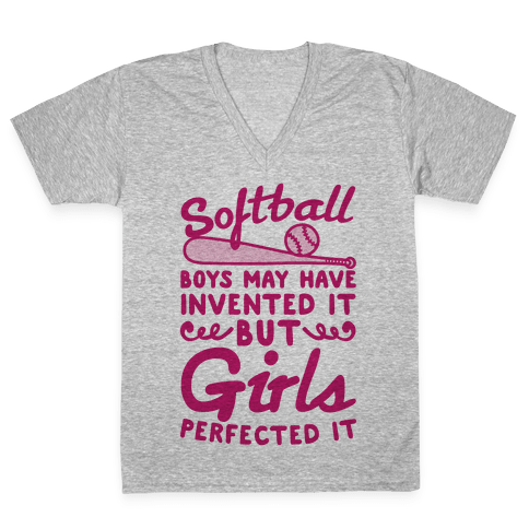 Softball Was Perfected By Girls