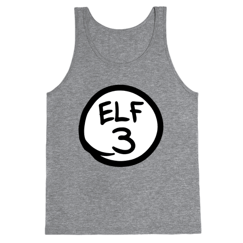 Elf Three Tank Top