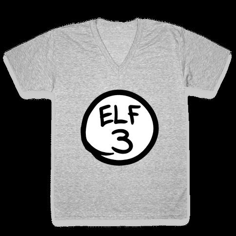 Elf Three V-Neck Tee Shirt