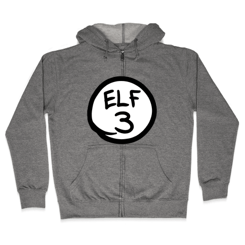 Elf Three Zip Hoodie