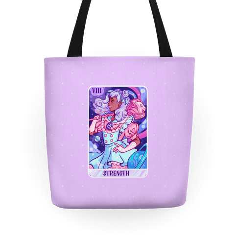 (Magical Girl) Strength Tarot Card Tote