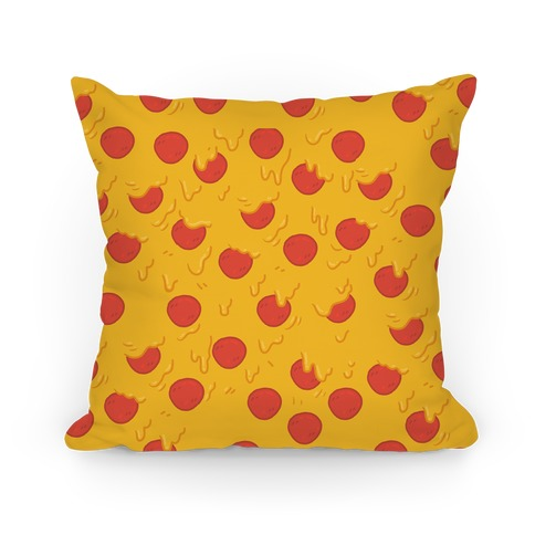 Cartoon Pizza Pillow Pillow