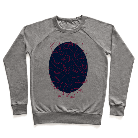 Constellation Star Pattern Pullover