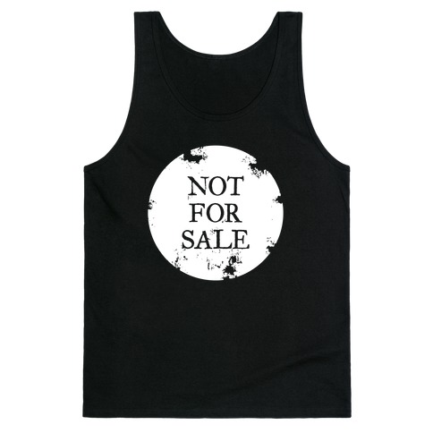 Not For Sale Tank Top