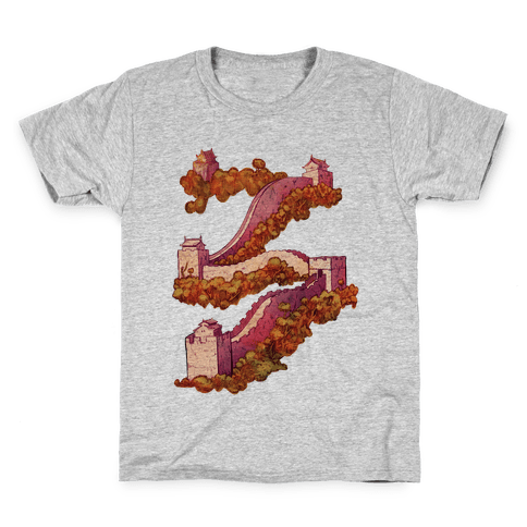 Great Wall Of China Travel Kids T-Shirt