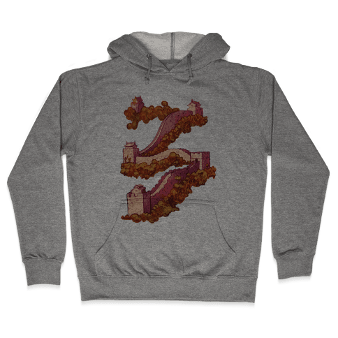 Great Wall Of China Travel Hooded Sweatshirt