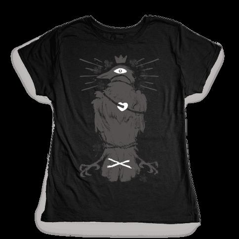 Strange Bird In Love Womens T-Shirt