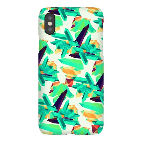 Crystal Pattern Phone Case