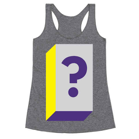 Mystery Box Racerback Tank Top