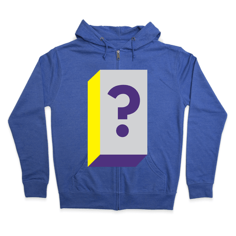 Mystery Box Zip Hoodie