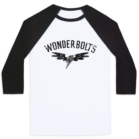 The Wonderbolts Team Varsity Baseball Tee