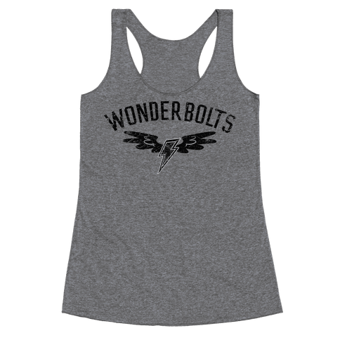 The Wonderbolts Team Varsity Racerback Tank Top