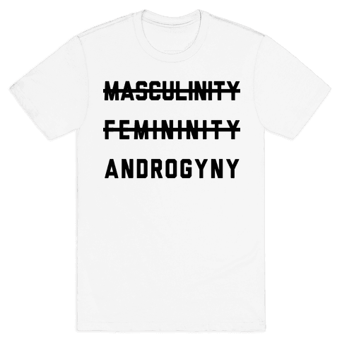 Masculinity Femininity Androgyny Mens T-Shirt
