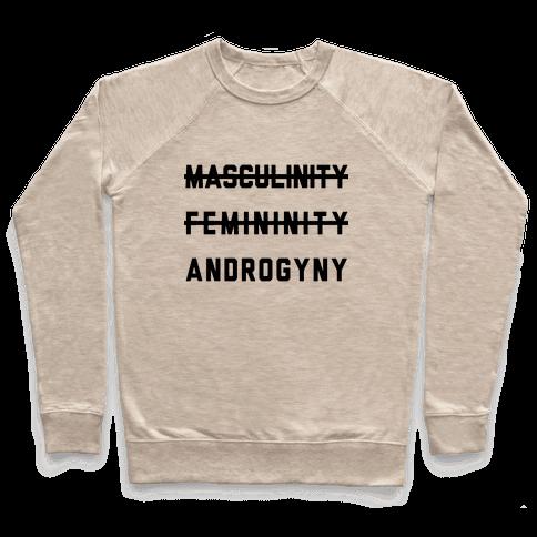 Masculinity Femininity Androgyny Pullover