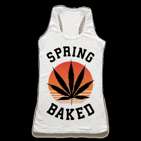 Spring Baked Racerback Tank Top