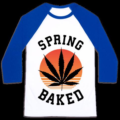 Spring Baked Baseball Tee