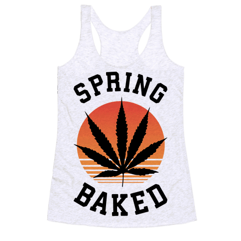 Spring Baked Racerback Tank Top