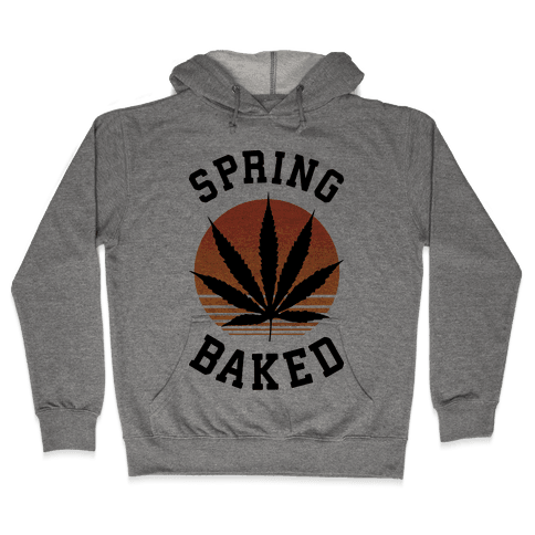 Spring Baked Hooded Sweatshirt