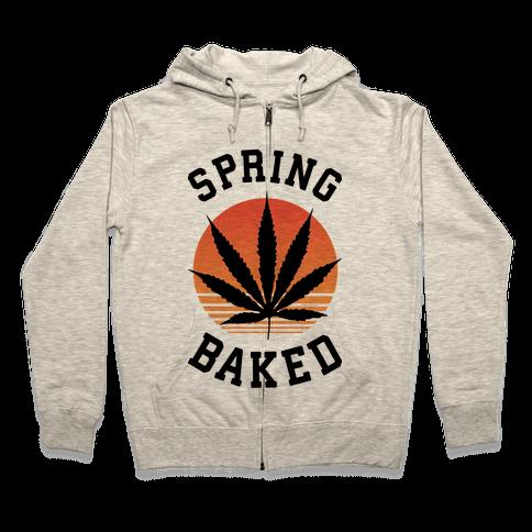 Spring Baked Zip Hoodie