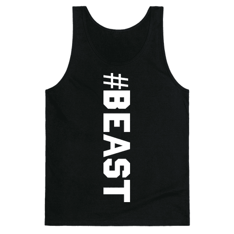 Hashtag Beast Tank Top