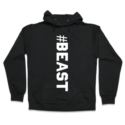 Hashtag Beast Hooded Sweatshirt