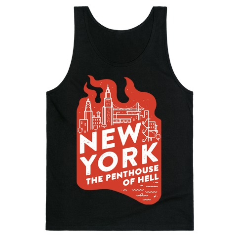 New York The Penthouse Of Hell Tank Top